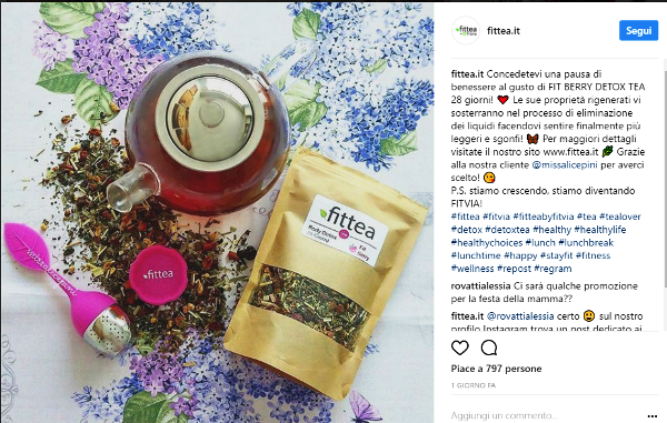 instagram fittea